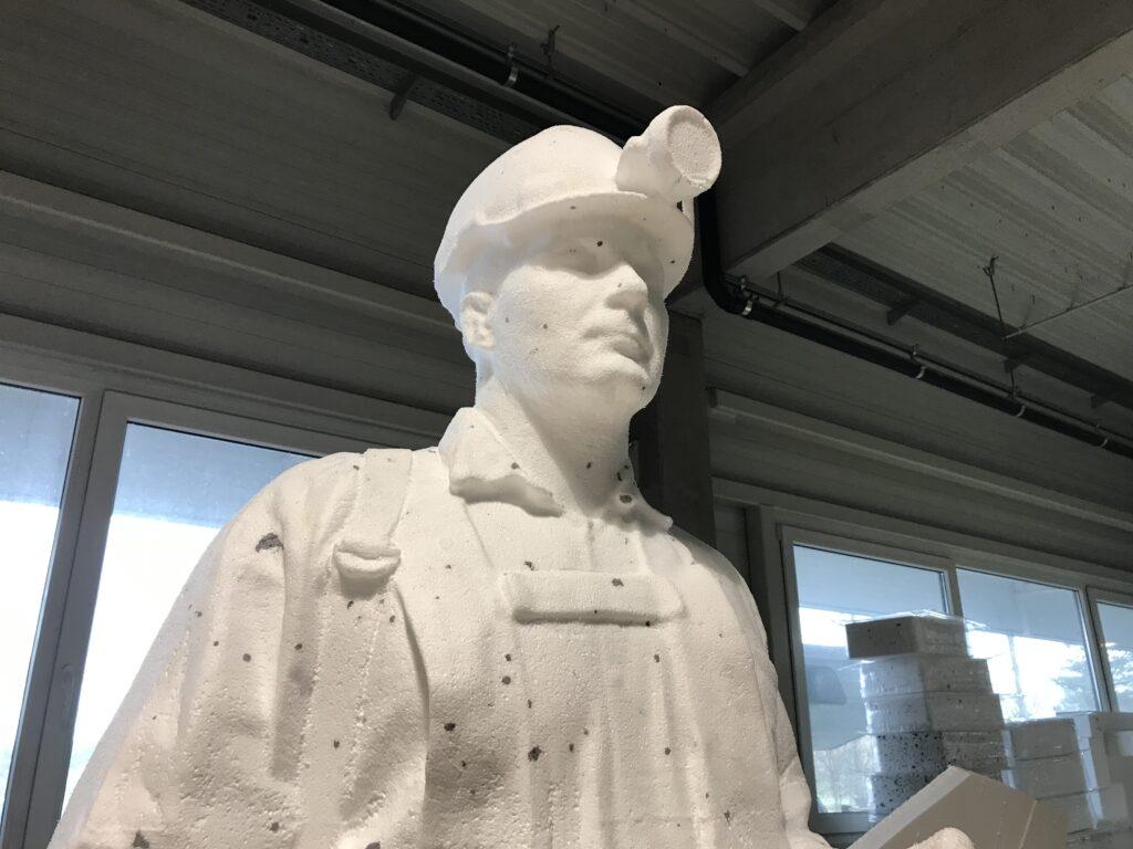 Styropor Skulpturen